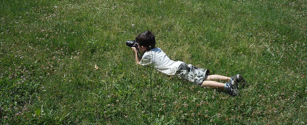 Come insegnare ai bambini le meraviglie della fotografia