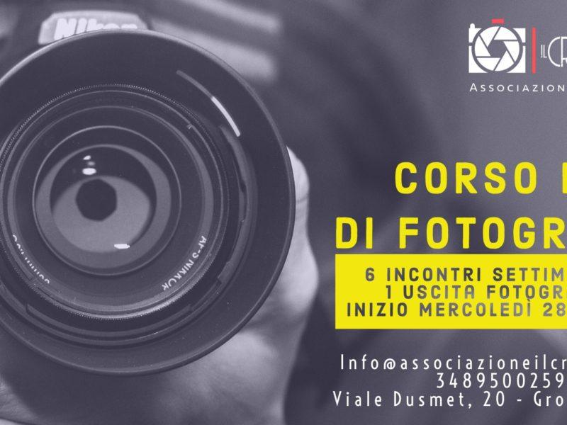 Corso base di fotografia digitale