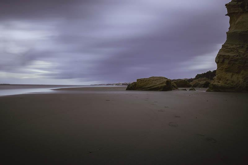 Una foto paesaggistica con lunga esposizione e filtro ND
