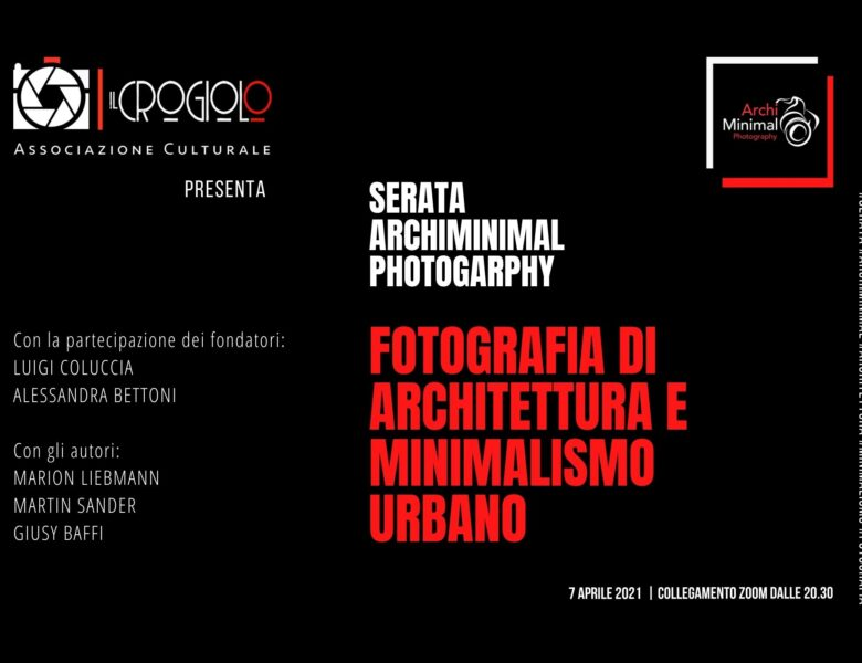 Fotografia di architettura e minimalismo urbano